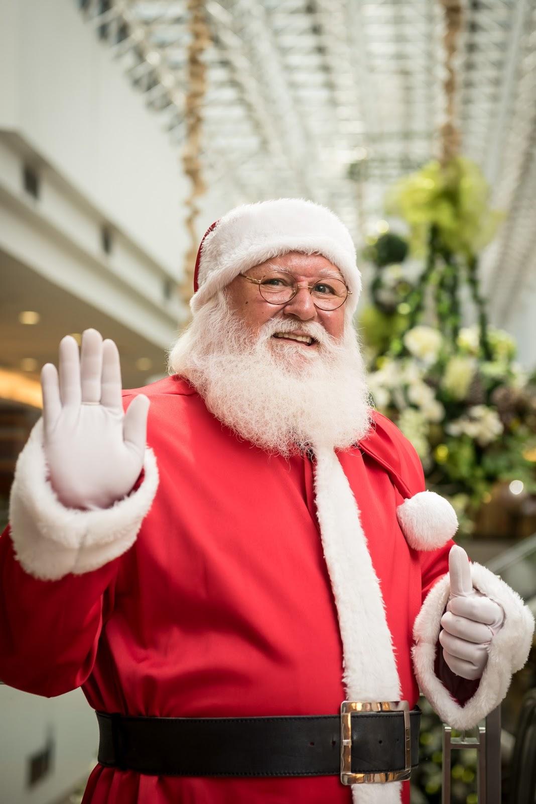 Um Natal branco: o Natal no Brasília Shopping