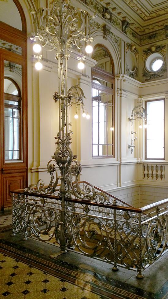 гранитная лестница Росбанка