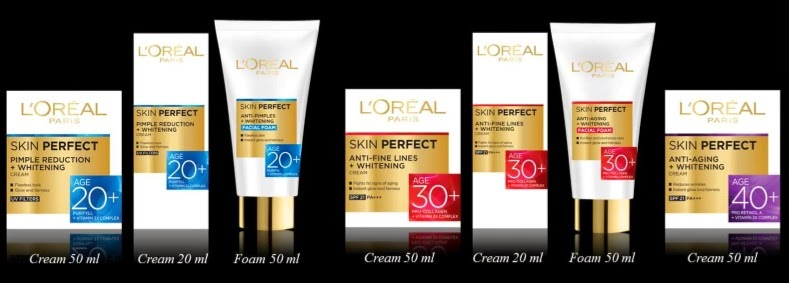 Loreal Paris Skin Perfect Products