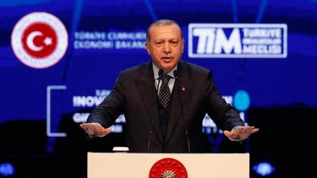Erdogan: Medida de Trump carece de validez: Israel es un ocupador