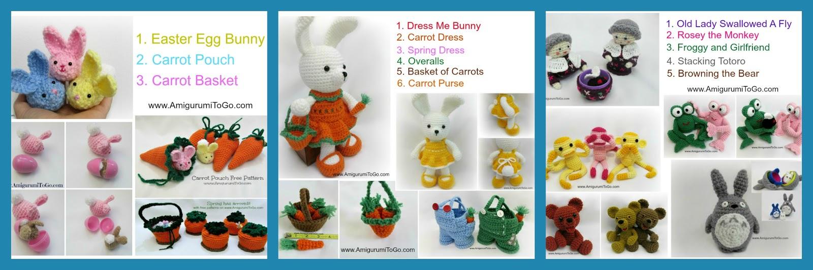 Amigurumi Easter Egg Pattern : Easter Amigurumi Patterns ~ Amigurumi To Go