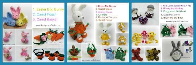 5 Little Monsters: Crochet Carrot | 213x640
