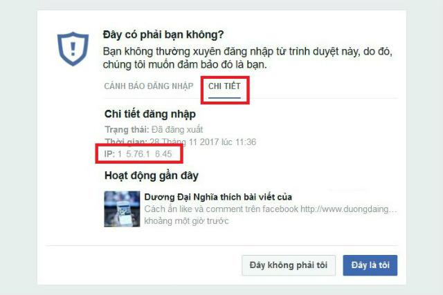 cảnh báo đăng nhập facebook 3