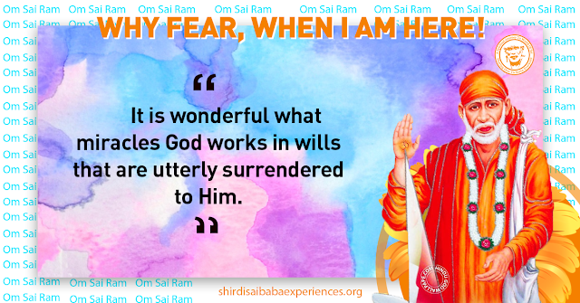 Sai devotee Shaun from South Africa says: As a humble servant of Shri Sai, I offer my obeisance at His feet and wish that Dear Deva grant all the responsible people for this blog His wonderful blessings. For almost a week, my wife experienced sporadic bouts of difficulty in breathing. As the situation worsened, we hastened to our GP where an ECG was done and thereafter a call was placed to the cardiologist by the GP. My wife was summoned to hospital immediately for further tests and possibly heart surgery. My wife's entire family has a history of coronary problems and quite recently her sister had undergone heart surgery. In desperation and quite worried, my wife; daughter and myself surrendered to the mercy of Shri Sai. This morning an angiogram was done and the cardiologist on perusing the results remarked that her arteries were fine. Later in the day she was discharged and is now home with some medication. I am certain that our prayers to Deva resulted in clearing of all blockages in her arteries. All glories to our Shirdi Sai Baba and heartfelt thanks to You Deva. Please continue to lead; love and lavish all with Your blessings. Aum Sai; Shri Sai; Jaya Jaya Sai.<br/>