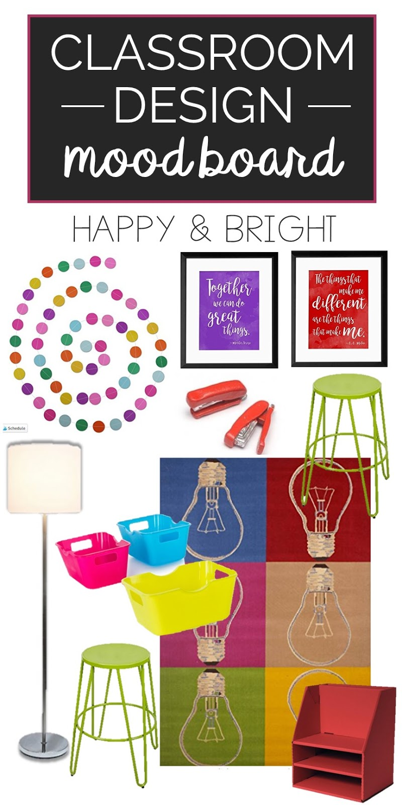 Classroom Decor Items : Brain waves instruction bright and bold classroom decor ideas