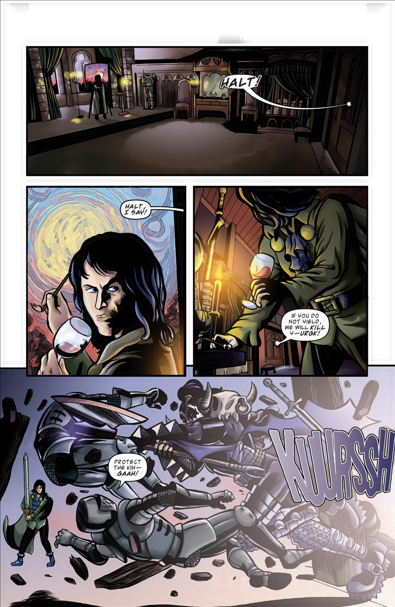 Read online KISS (2012) comic -  Issue #3 - 19