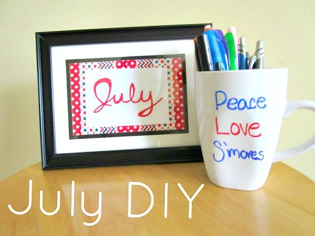 July DIY