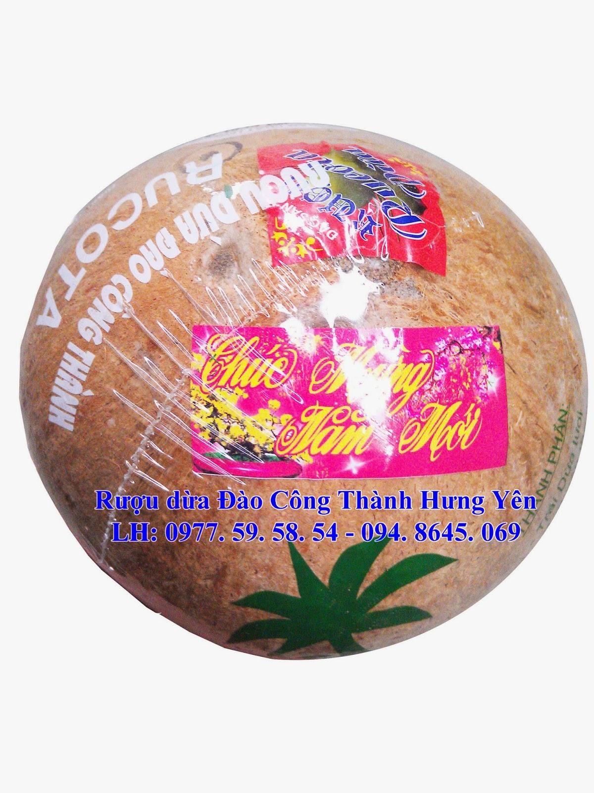 Rượu dừa Đào Công Thành - Hưng Yên