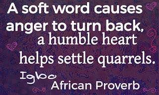 Igbo Proverb