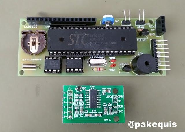 Kit de balança eletrônica