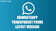 [UPDATE] Download GBWhatsApp Transparent Prime v9.70 Latest Version Android