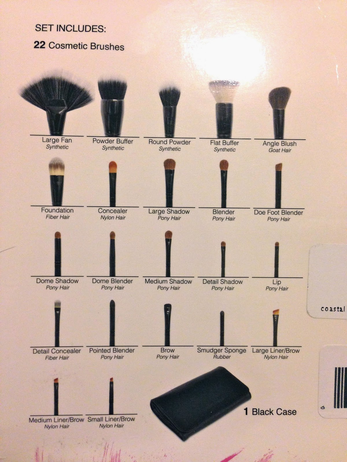 Life as a Junicorn: Affordable 22-Piece Makeup Brush Set