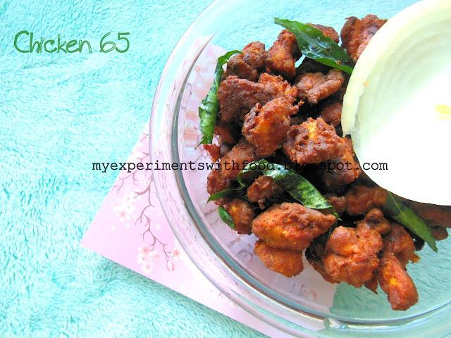 Chicken 65- Restaurant style….