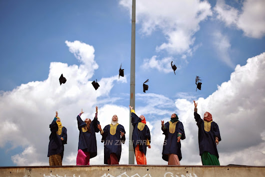 Uitm Convocation Photoshoot by Tun Zikri Firdaus .
