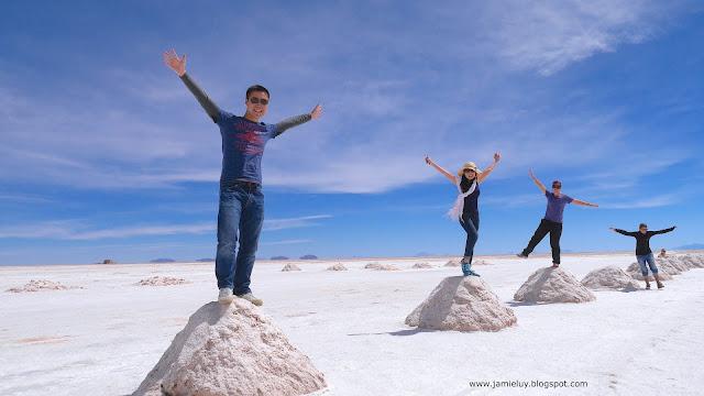 Salt Moundts, Uyuni, Bolivia