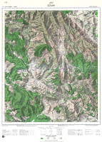 Zoumi Morocco Topographic map 50k free download