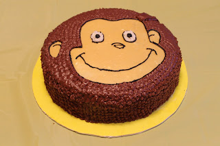 3rd Curious George Birthday Party