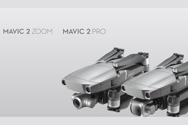 DJI intros Mavic 2 Pro (world's first drone with an integrated Hasselblad camera) and Mavic 2 Zoom (world's first foldable consumer drone with optical zoom)