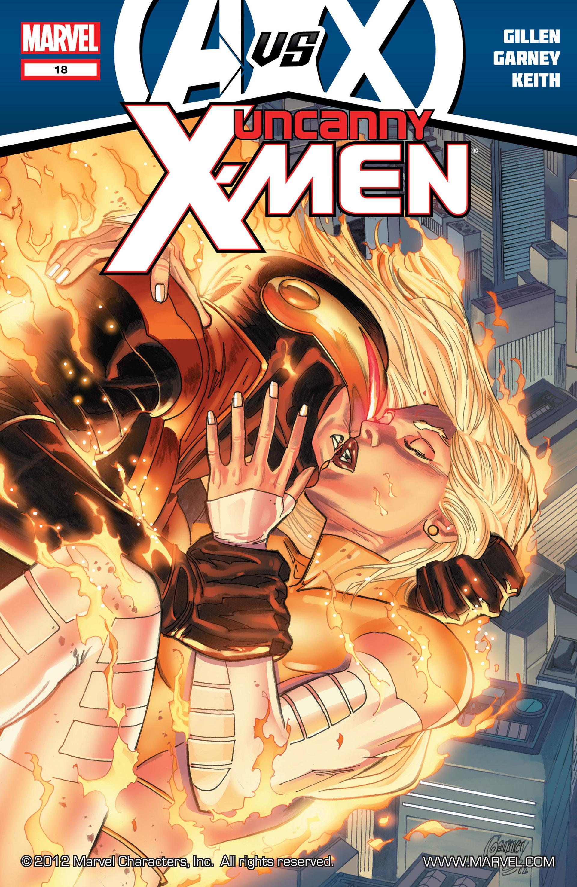 Uncanny X-Men (2012) 18 Page 1