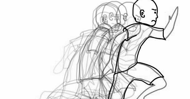 Getok Tular: Contoh sederhana animasi berlari menggunakan