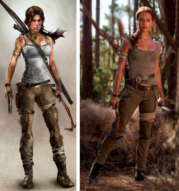 Lara Croft game e filme