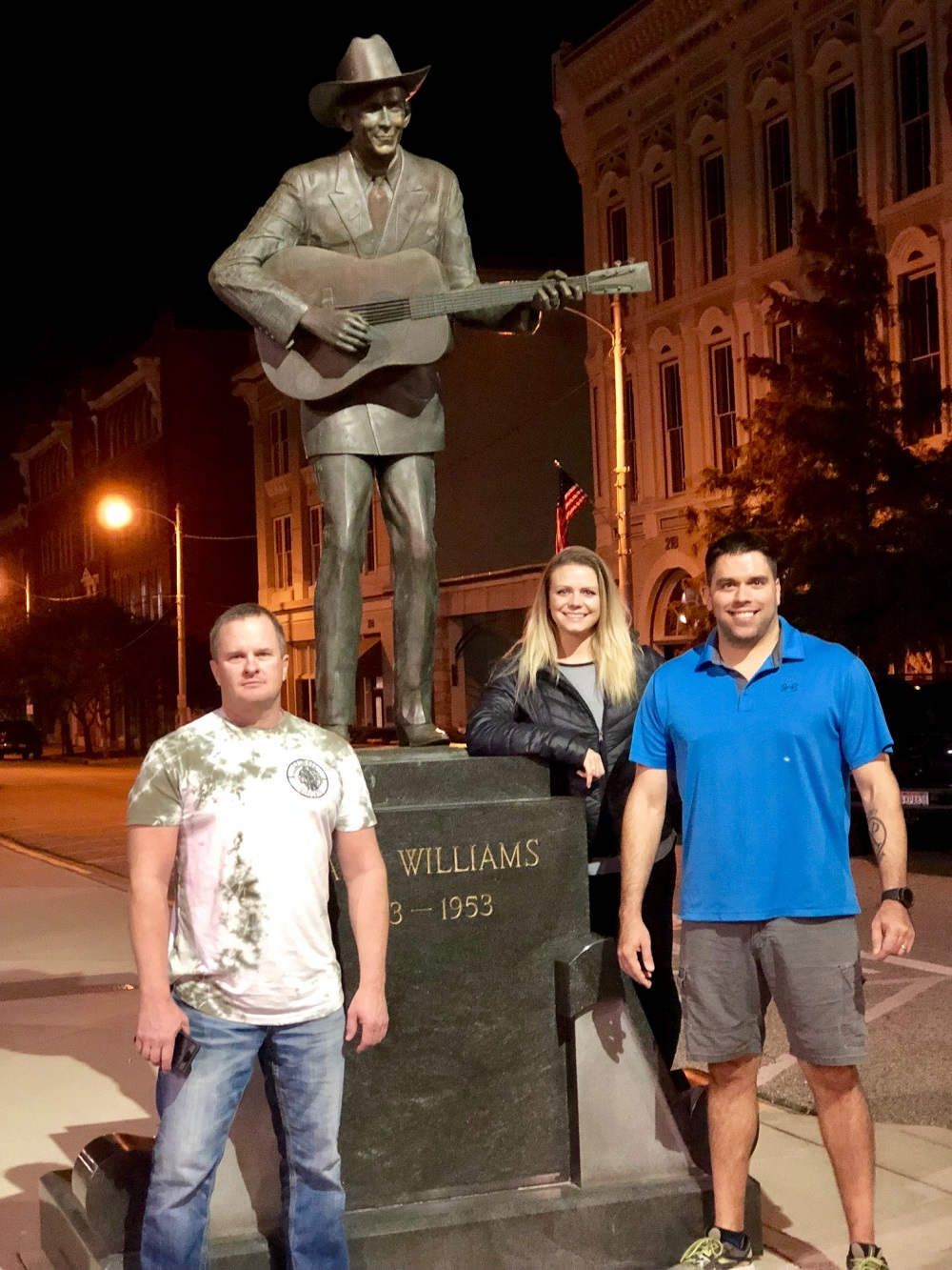 Hank Williams Statue Montgomery Alabama