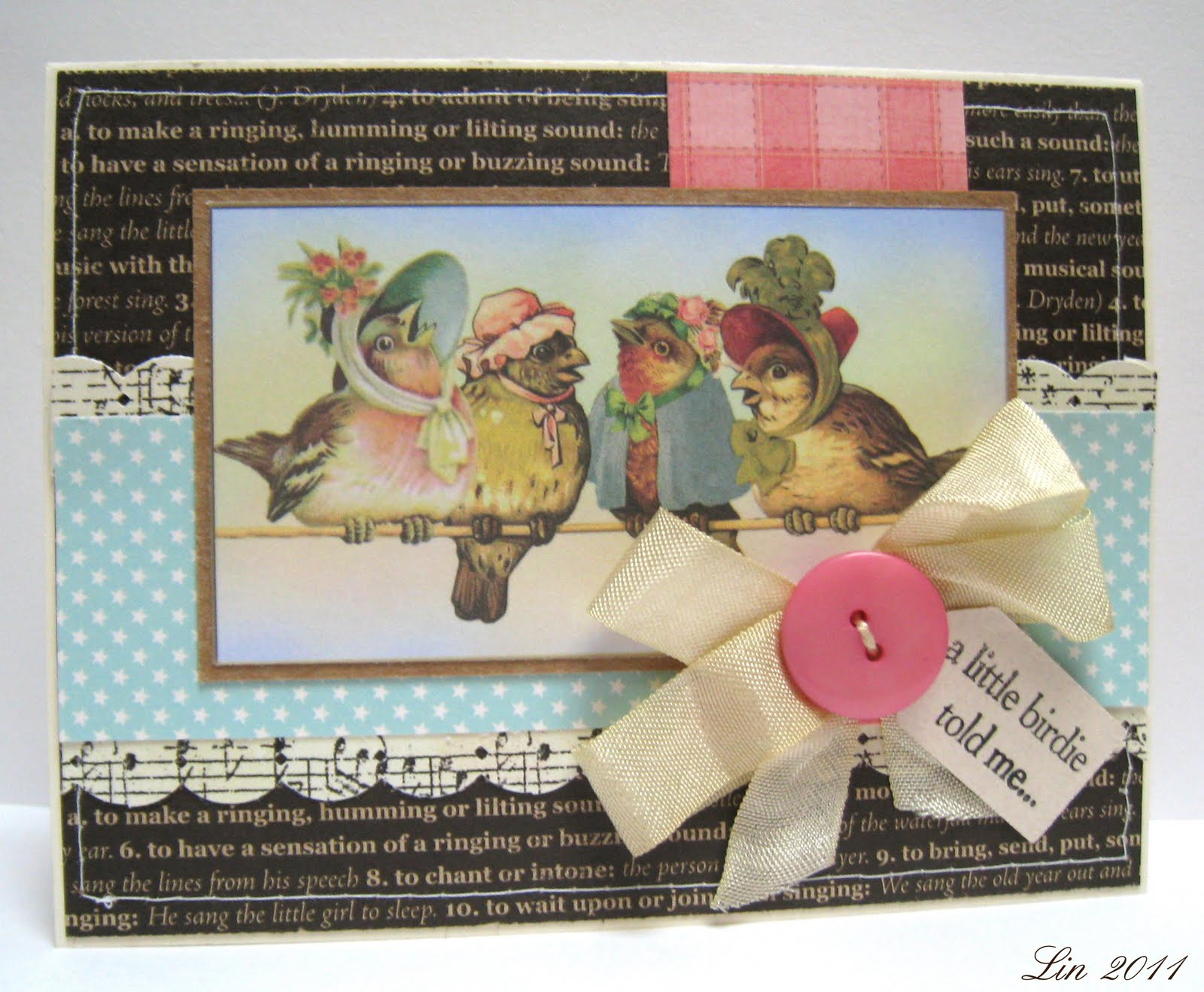 Cream colored cardstock paper studio - Supplies Cream And Kraft Card Stock Crafty Secrets Birds Blossoms Vintage Image Design Papers From Memory Box Valise Papers Jillibean Soup