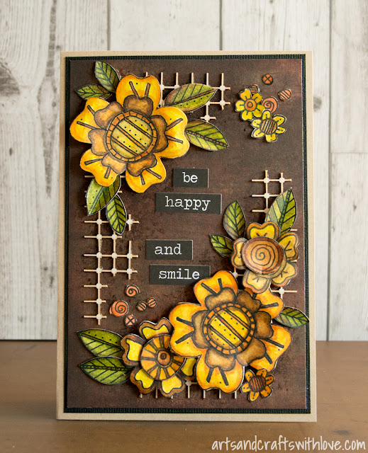 Cardmaking: Be happy and smile!