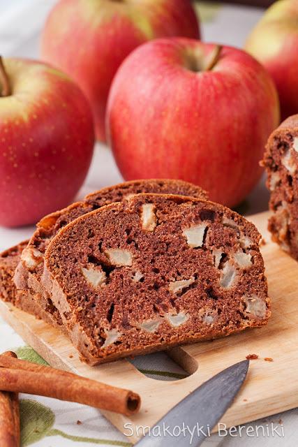 Ciasto mieszaniec z jabłkami