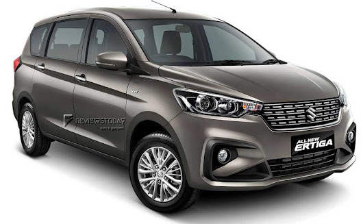 India bound New Suzuki Ertiga 2018 - A Preview