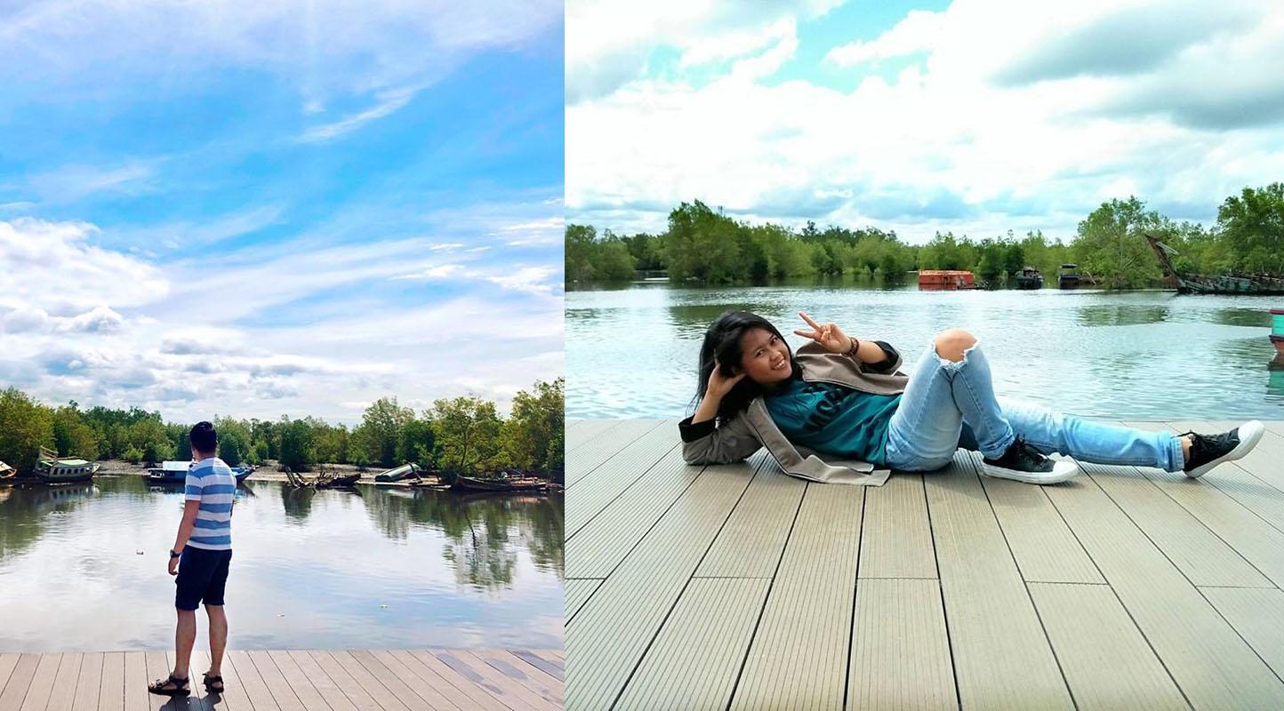Wisata Pantai Dan Hutan Mangrove Pulau Baai