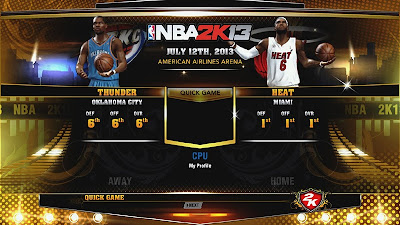 NBA 2K13 Shadow Mod