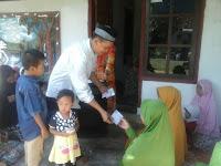 Bidang Pembinaan Umat PKS Lamtim Gandeng Masyarakat Santuni Anak Yatim