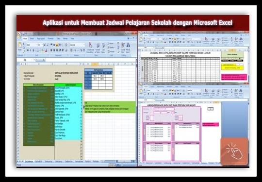 Aplikasi Pembuatan Jadwal Pelajaran Terbaru