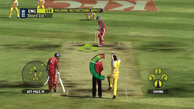 Ashes Cricket 2009 Free For PC