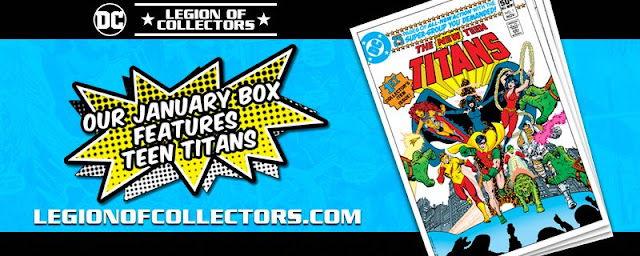 Legion Of Collector Teen Titans Banner
