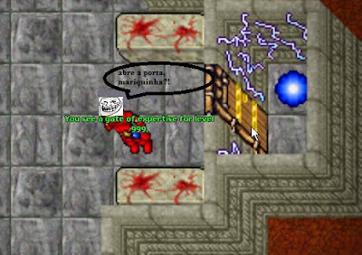 Quem é o top level do tibia?, kharsek chegará ao level 999?