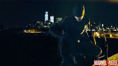 Daredevil costume first look Marvel Netflix