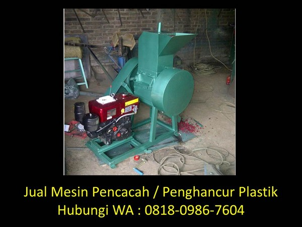 mesin giling plastik dijual di bandung