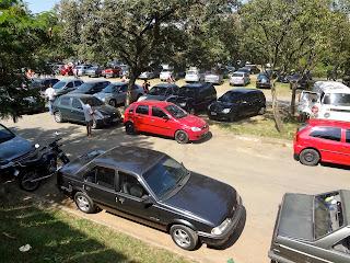 Parque Ecológico do Tietê - Estacionamento