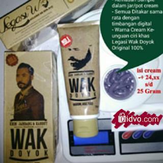 Jual Krim Wak Doyok Original Penumbuh Bulu dan Rambut