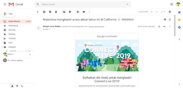 Beginilah Cara Mendaftarkan diri untuk menghadiri Connect Live 2019