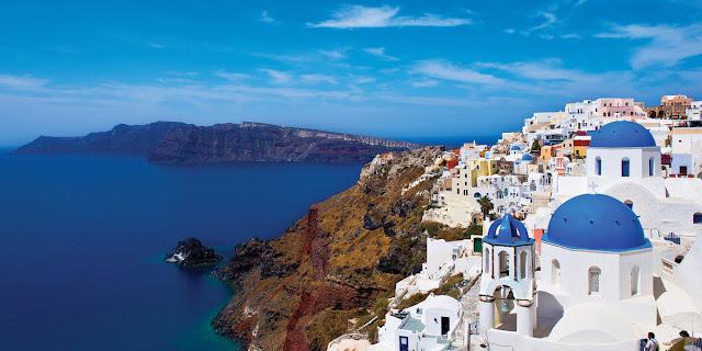 Fuso horário em Santorini