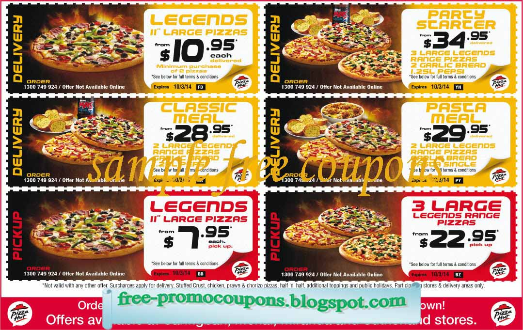 You must either pick your order up at a local store or have it delivered. Pizza Hut Return Policy. Contact your local pizza shop to discuss coupons, refund or replacement if you are dissatisfied with your order. Submit a Coupon. Sharing is caring. Submit A Coupon for Pizza Hut here. Store Rating. Click the stars to rate your experience at Pizza.