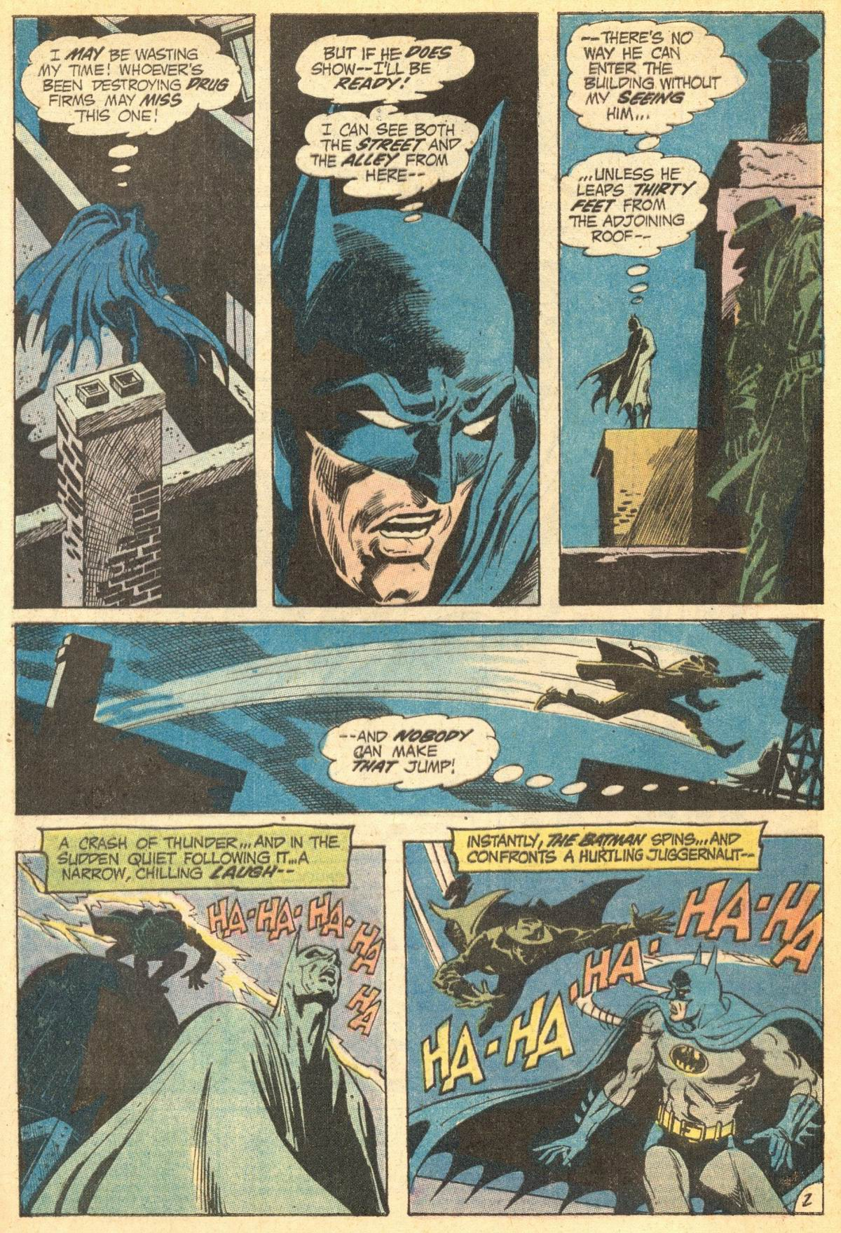 Detective Comics (1937) 418 Page 3