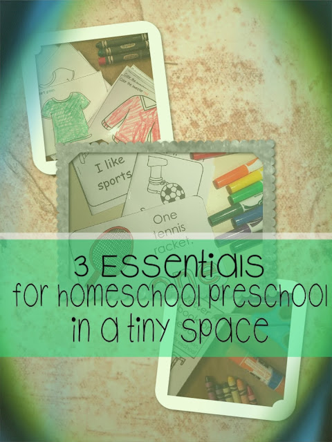 You can home preschool you just need these 3 things