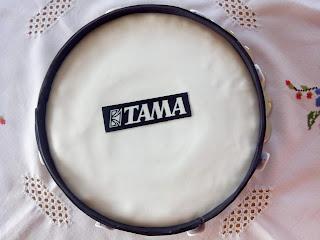 Vista cenital tarta batería