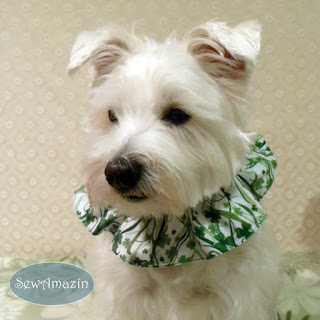 St. Patrick's Day Scrunchie Neck Ruffle