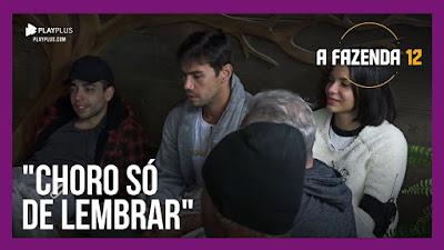 A Fazenda 12 – Medo da roça, JP e Luiza – Peões conversam sobre comidas e filmes tristes
