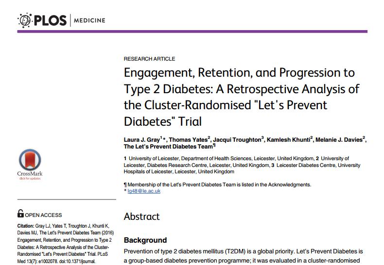 RedgedapS: Ensayo clínico sobre la efectividad de un